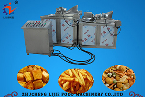 Automatic Stir Frying Machine