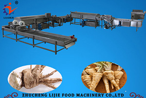 Chinese Herbal Medicine Cleaning Line